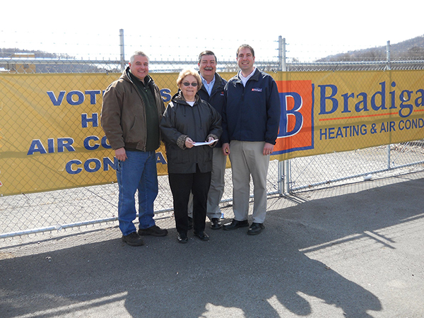 Bradigan's annually donates three